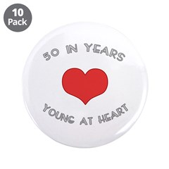 50 Young At Heart Birthday 3.5