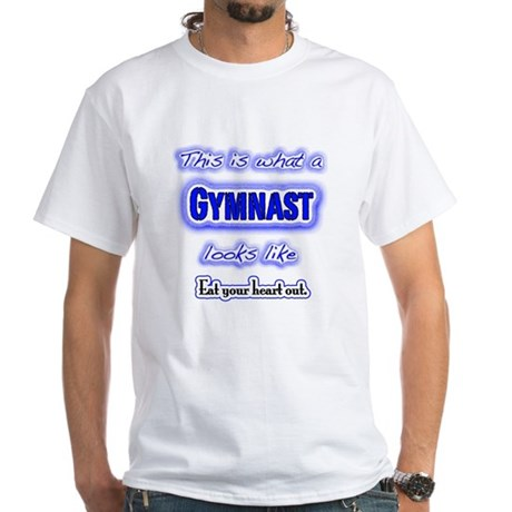 Gymnast - Eat Your Heart Out White T-Shirt