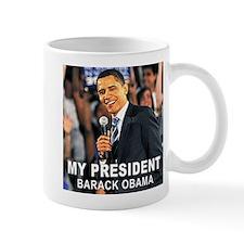 My President (Crowd) Small Small Mug