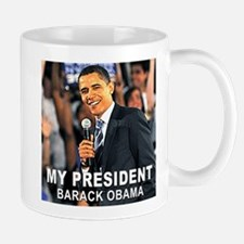 My President (Crowd) Small Small Mug
