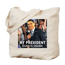 My President (Crowd) Tote Bag