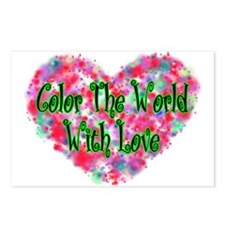Color The World Postcards (Package of 8)