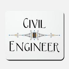 Civil Engineer Line Mousepad