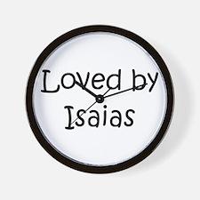 Unique Isaias Wall Clock