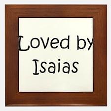 Cool Isaias Framed Tile