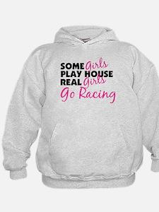 Real Girls Go Racing Hoodie