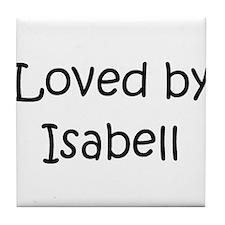 Unique Isabell Tile Coaster