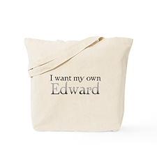 My Own Edward Tote Bag