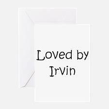 Cute Irvin Greeting Card