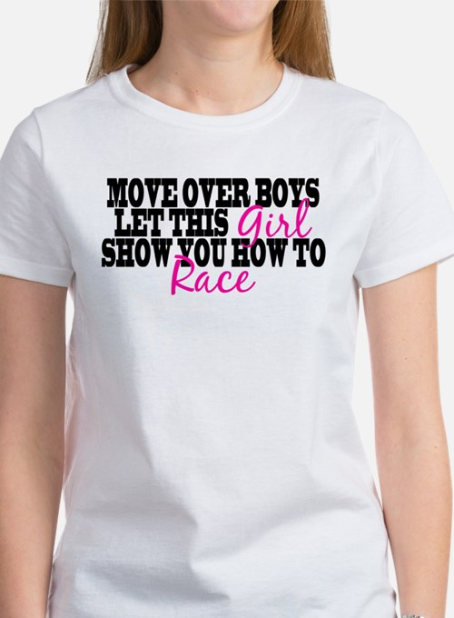 Move Over Boys Women's T-Shirt