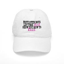 Move Over Boys Baseball Cap