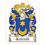 Kalenik Family Crest Small Poster