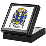 Kalenik Family Crest Keepsake Box