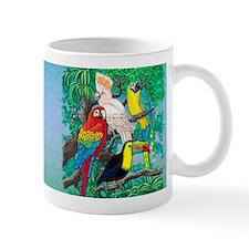 Tropical_Birds_mug Mugs