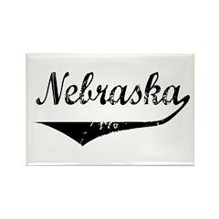 Nebraska Rectangle Magnet (100 pack)