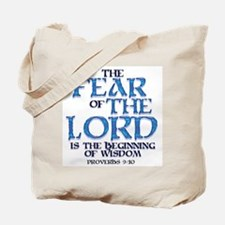 Fear of the Lord Tote Bag