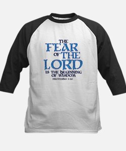 Fear of the Lord Kids Baseball Jersey