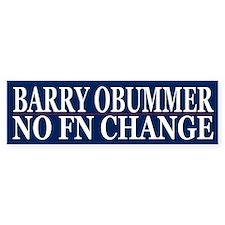 Obummer Obama Election Humor Bumper Car Sticker
