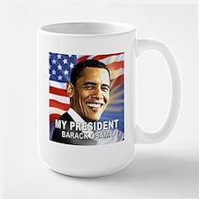 My President (Flag) Large Mug