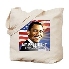 My President (Flag) Tote Bag