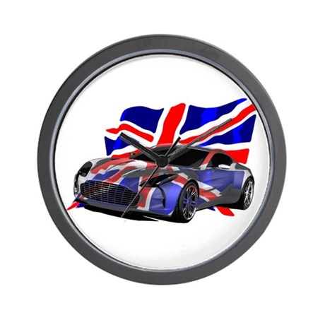 Aston Martin Wall Clock