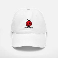 Ladybugs Rocks! Baseball Baseball Cap