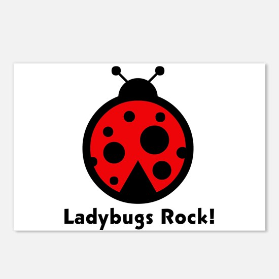 Ladybugs Rocks! Postcards (Package of 8)