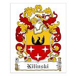 Kilinski Family Crest Small Poster