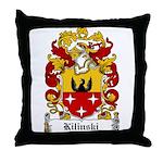 Kilinski Family Crest Throw Pillow