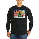 XmasMusic2/Shar Pei Long Sleeve Dark T-Shirt