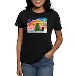 XmasMusic2/Shar Pei Women's Dark T-Shirt
