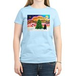 XmasMusic2/Shar Pei Women's Light T-Shirt