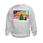 XmasMusic2/Shar Pei Kids Sweatshirt
