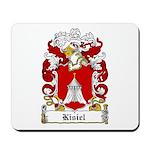 Kisiel Family Crest Mousepad