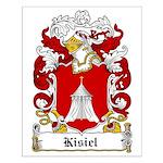 Kisiel Family Crest Small Poster