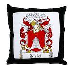Kisiel Family Crest Throw Pillow