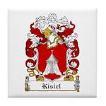 Kisiel Family Crest Tile Coaster