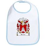 Kisiel Family Crest Bib