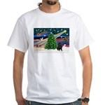 XmasMagic/ Shar Pei White T-Shirt