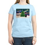 XmasMagic/ Shar Pei Women's Light T-Shirt