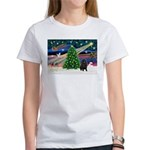 XmasMagic/ Shar Pei Women's T-Shirt