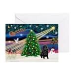 XmasMagic/ Shar Pei Greeting Cards (Pk of 20)