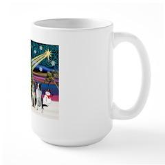 XmasMagic/2 Border Collies Mug
