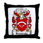 Konarski Family Crest Throw Pillow