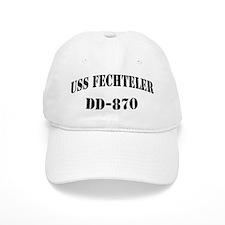 USS FECHTELER Baseball Cap