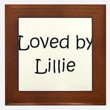 Unique Lillie Framed Tile