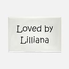 Cute Lilliana Rectangle Magnet