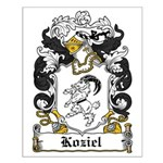 Kosiel Family Crest Small Poster