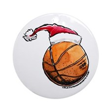 Basketball Ornament (Round)