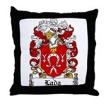 Lada Family Crest Throw Pillow